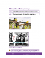 A02 – CDM regulations – what they mean to you