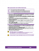 A05 – Risk Assessments and Method Statements