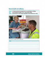 B06 – General health and wellbeing