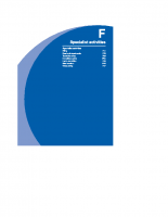 F – Section Contents