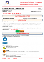 COSHH067 – 2022.02.05 – Adcor 500S – Issue 2