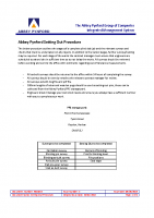 IMG03.9 – Setting Out Procedure – Sep19 – Issue 2