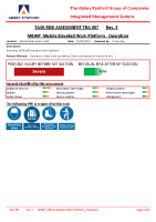 TRA087 – 2022.01.18 – MEWP_Mobile Elevated Work Platform_ Operation – Issue 3